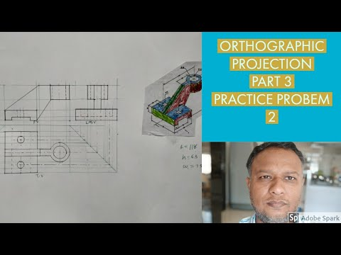 Orthographic projection part 3