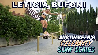 Leticia Bufoni Rips Backyard Skatepark on Celebrity Surf Series