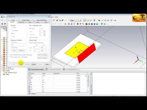 cst-mws-tutorial-06:-exploring-simulation-results-of-microstrip-patch-antenna