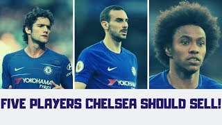 FIVE Players Chelsea Must Sell This Summer  Chelsea FC my Religion