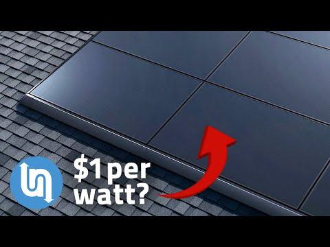 Exploring Tesla solar panels game changing price