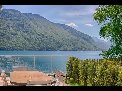 A vendre demeure historique restaurée de 240 m2- Bord du lac - Ponton privé !
