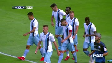 Highlights   Paderborn 07-Lazio 2-4