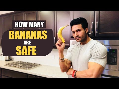 How many BANANAS are SAFE to Eat in a day? & It's Benefits by Guru Mann