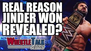 Real Reason Jinder Mahal Won WWE Championship!? CM Punk Rumor Killer | WrestleTalk News May 2017