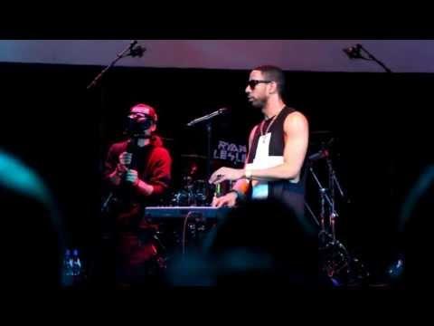 RYAN LESLIE - Valentine (LIVE in Corso Rotterdam) 22 november 2012 (HD)