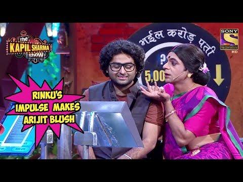 Rinku Devi's Sudden Impulse Makes Arijit Singh Blush - The Kapil Sharma Show