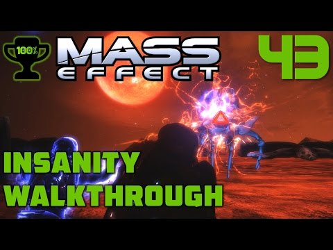 Armstrong Cluster: Geth Incursions - Mass Effect 1 Insanity Walkthrough Part 43 [100% Completionist]