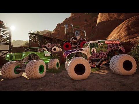 Monster Jam Steel Titans 2 Inverse truck pack |