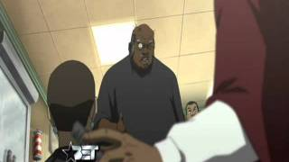 Uncle Ruckus At The Barber Shop (The Boondocks 211 The Uncle Ruckus Reality Show) HIGH QUALITY!!!!!