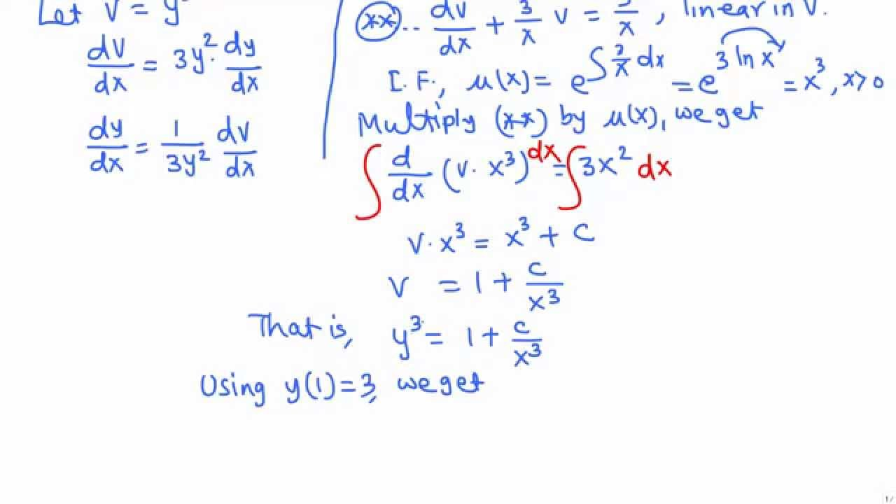 bernoulli 39 s equation units. solve an ivp with bernoulli\u0027s equation: example 3 bernoulli 39 s equation units
