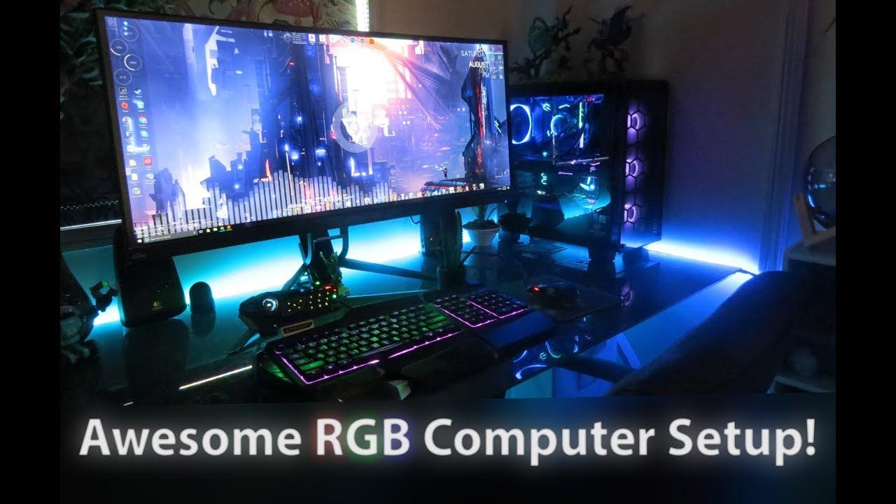My Full RGB Computer Setup