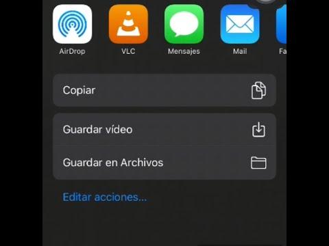Como bajar Videos de Facebook desde iPhone, iPod touch ó iPad - 2021 truco