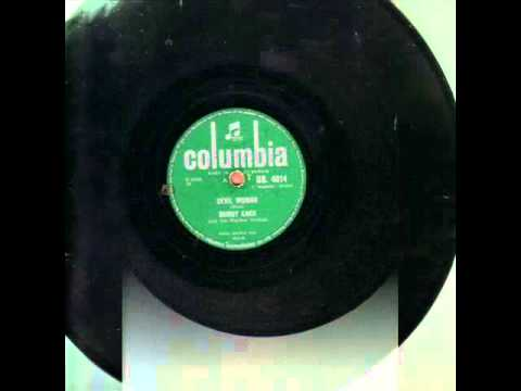 BUDDY KNOX with the RHYTHM ORCHIDS. DEVIL WOMAN. 78RPM.