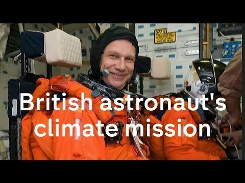 British astronaut's climate change mission