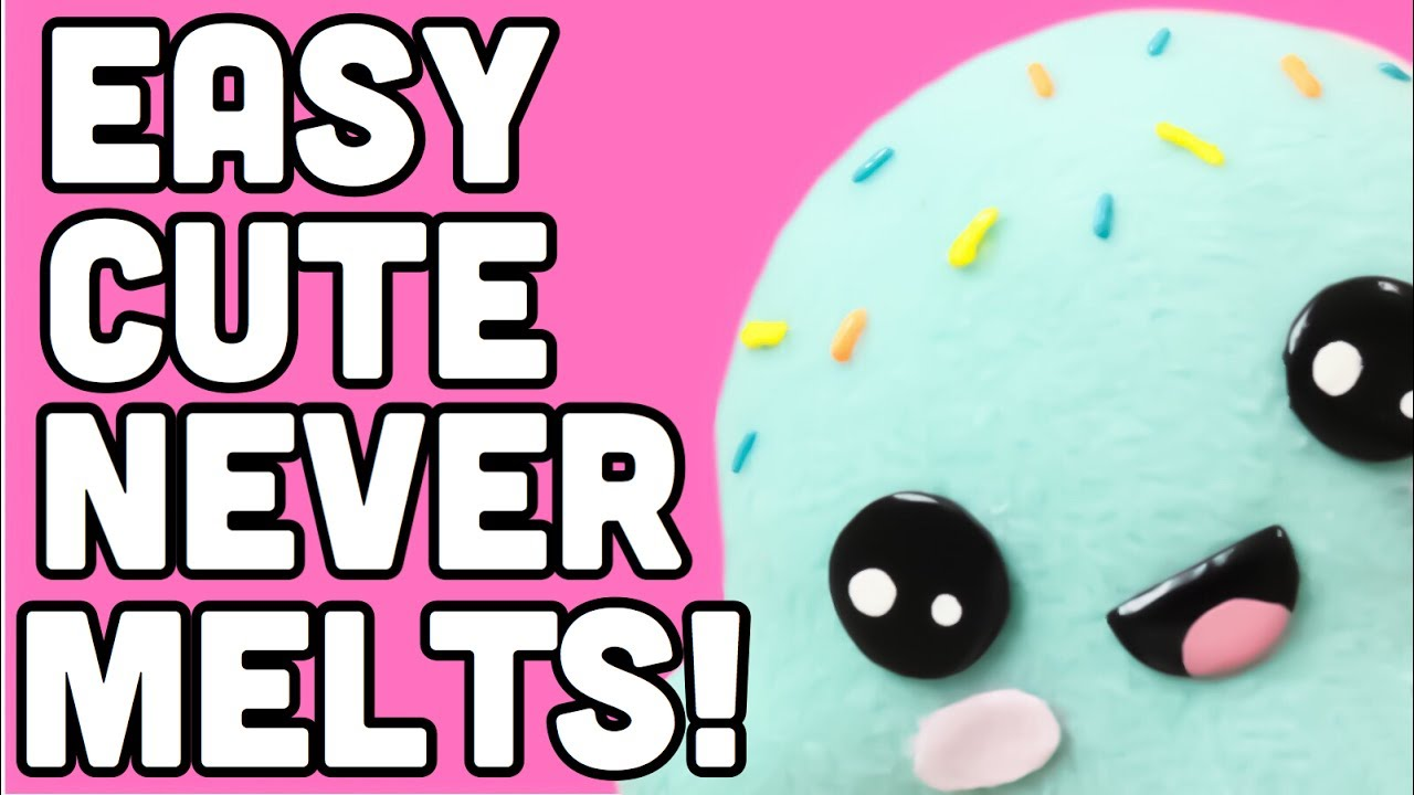 Make The Cutest Ice Cream Never Melts Kawaii Crafts Original And