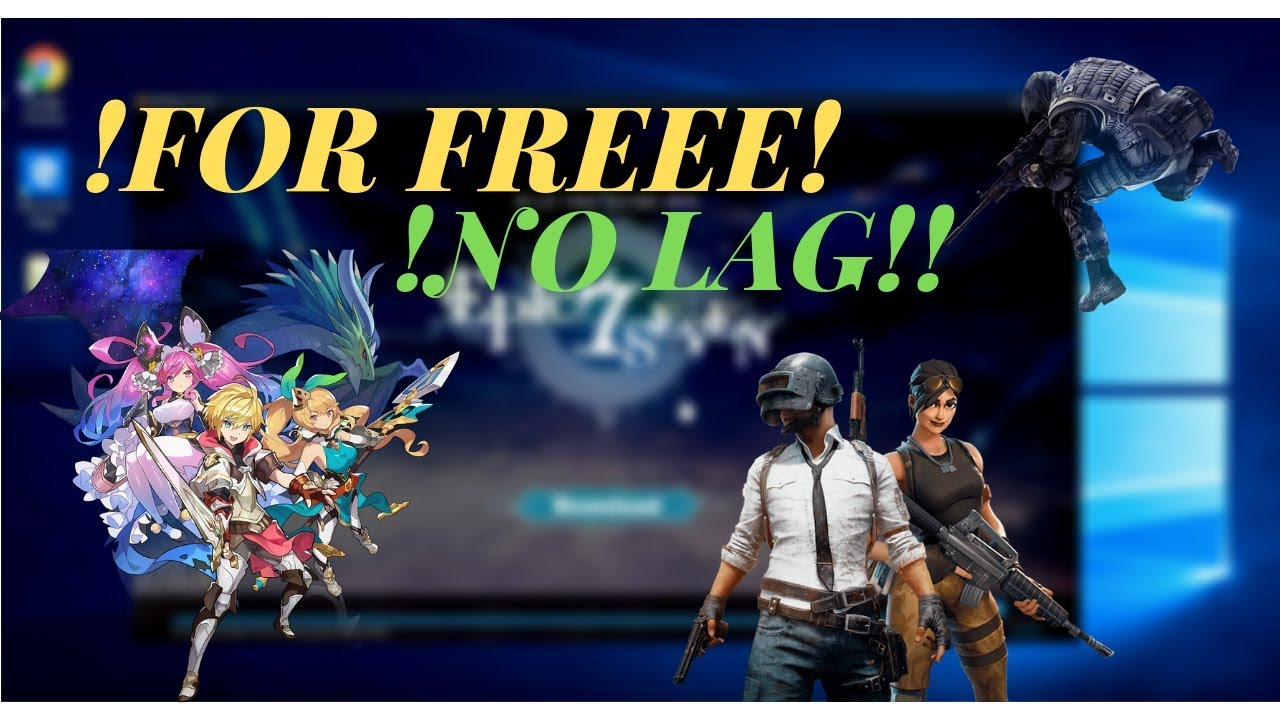 LD Player | How To Play Epic Seven, PUBG, GrandChase or Any Mobile Game on  PC! FOR FREE & NO LAG!