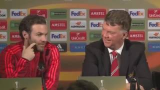Louis van gaal (lvg) funniest and weirdiest moment for manchester united
