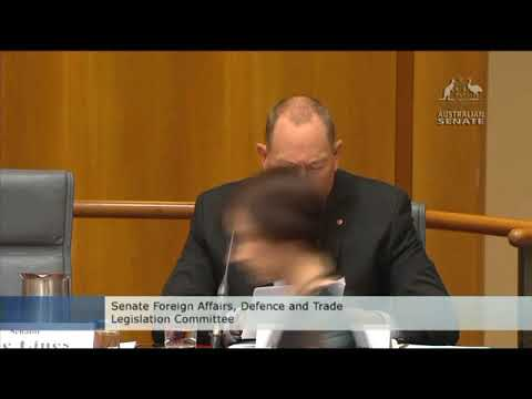 Senate Estimates - Chief of Army questioned by Senator Fraser Anning