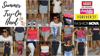 I SPENT $1000 ON FASHION NOVA!? | SUMMER TRY-ON HAUL ♡