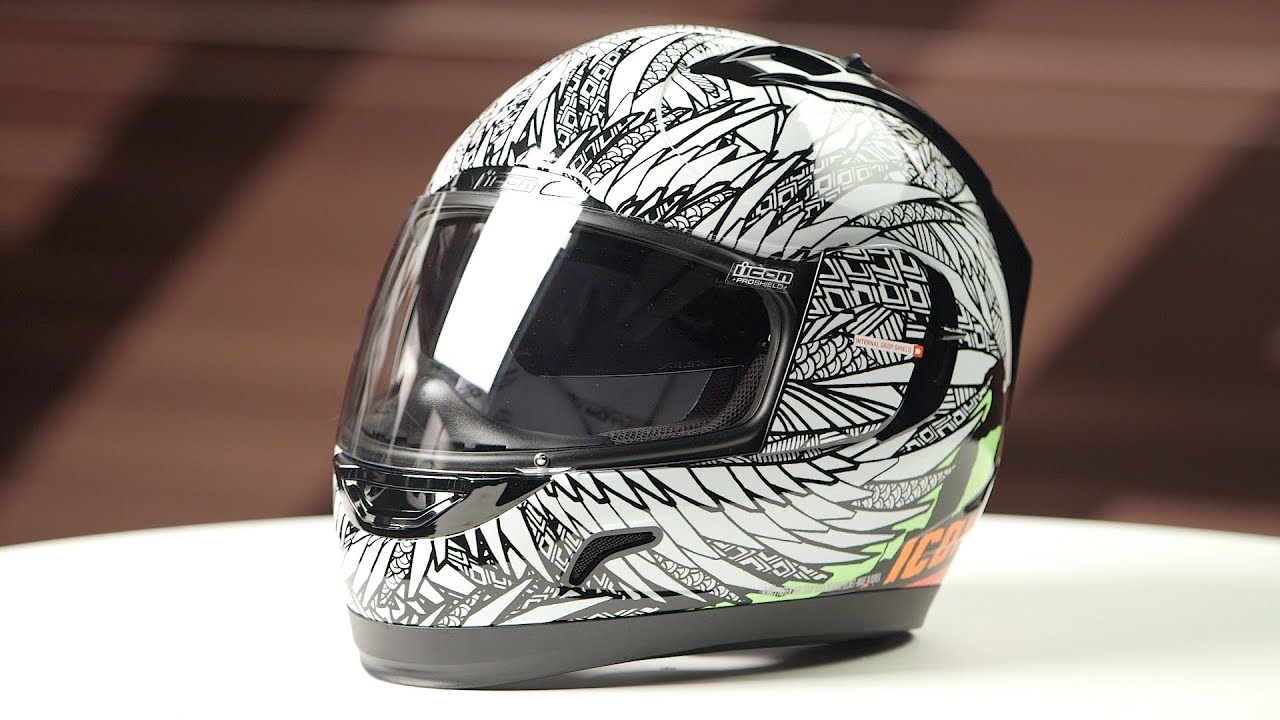 ICON Alliance GT Bird Strike Helmet Review