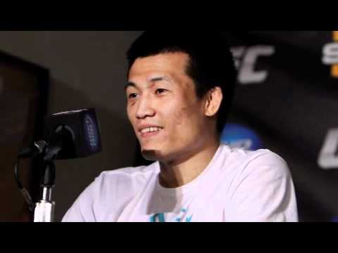 Chan Sung Jung After Pulling Off The First Twister in the Octagon - MMA Weekly News