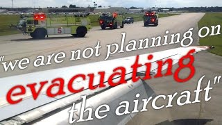 Allegiant McDonnell Douglas MD-83 / MD-80 Emergency Landing at Orlando Sanford with ATC 7/20/15