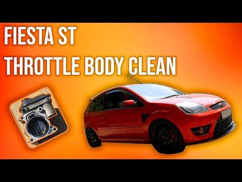 Fiesta ST Throttle Body Cleaning