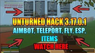 Unturned Hack 3.17.0.1 - ESP, AIMBOT, TELEPORT, NOWATER [Multiplayer]
