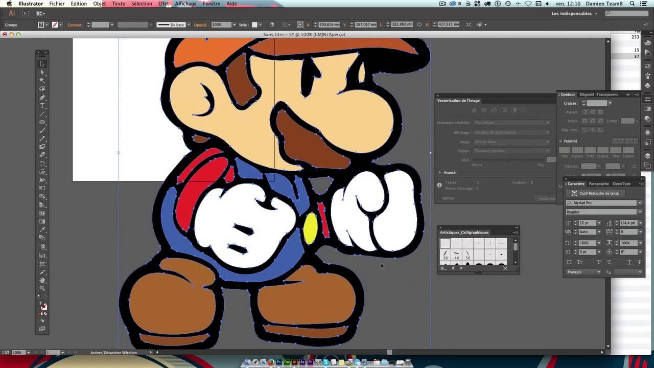 Graphisme/design : Vectoriser un logo sous …