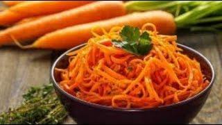 Морковь по корейски  Обалденно вкусный рецепт / Морква по-корейськи