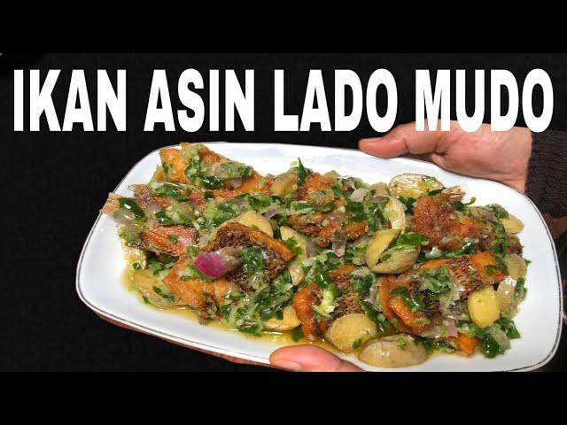 Resep Ikan Asin Lado Mudo Ala Uni Cheche Masakan Padang Youtube