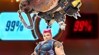 99% TO 99% OVERTIME - Overwatch