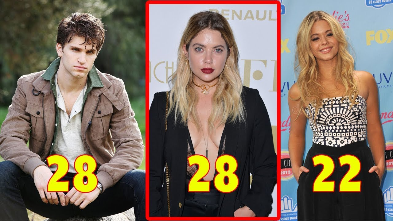 Pretty Little Liars Real Name and Age 2018 From Oldest to