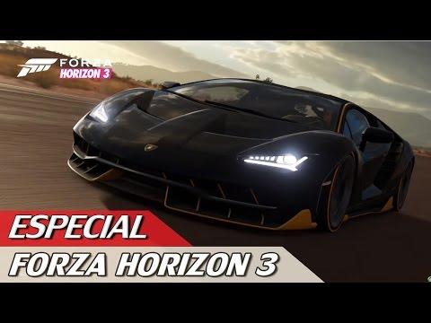 FORZA HORIZON 3 + DESAFIO KART CROSS - ESPECIAL #89 | ACELERADOS