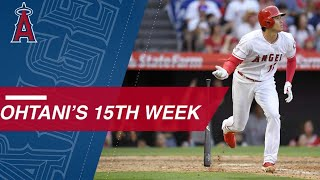Highlights from Ohtani's 15th week of the season