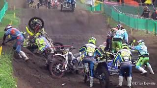 sidecarcross crash compilation