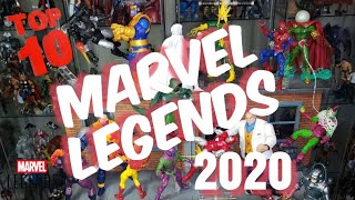 Top 10 BEST MAŔVEL LEGENDS of 2020!