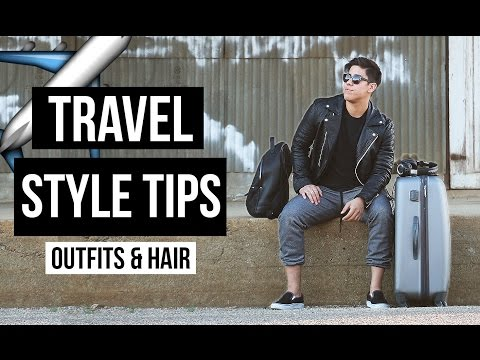 TRAVEL STYLE TIPS: OUTFIT + HAIR (WITH BRYLCREEM) ✈️ | JAIRWOO