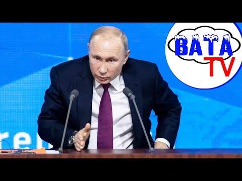 Как Путин к прыжку приготовился