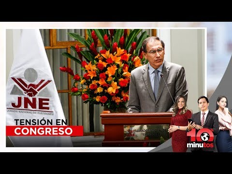 Tensión en Congreso por proyecto de adelanto de elecciones - 10 minutos Edición Tarde