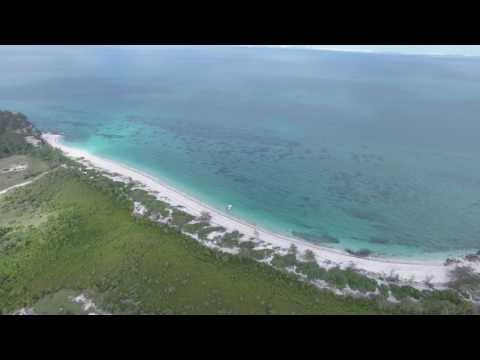 Santa Carolina Island Mozambique - Droning