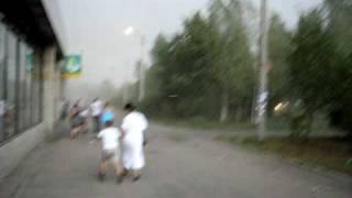 Ураган в Тосно 15 августа 2010 года