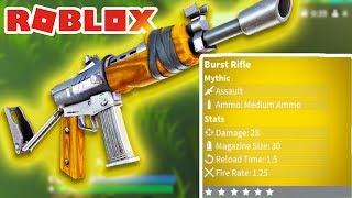 BEST GUN IN ISLAND ROYALE!! (Roblox Fortnite) [Ep 3]
