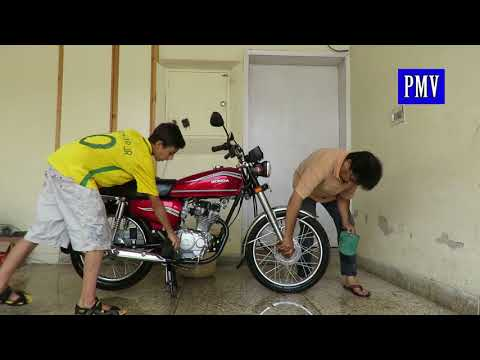 Wash Honda CG 125cc Motorcycle Model 2018