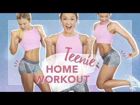 Effektives 20 Minuten Homeworkout für Jugendliche   Bauch, Beine, Po trainieren