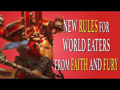 World Eaters New Rules From Faith And Fury Psychic Awakening