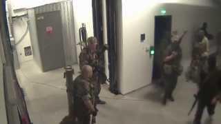 Захват террористами аэропорта, Донецк, май 2014, видео камер наблюдения