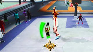 "LEGEND MIDGET 5'7"" SHARPSHOOTER GREENS HALFCOURT GAME WINNERS IN NBA2K20! BEST JUMPSHOT?"