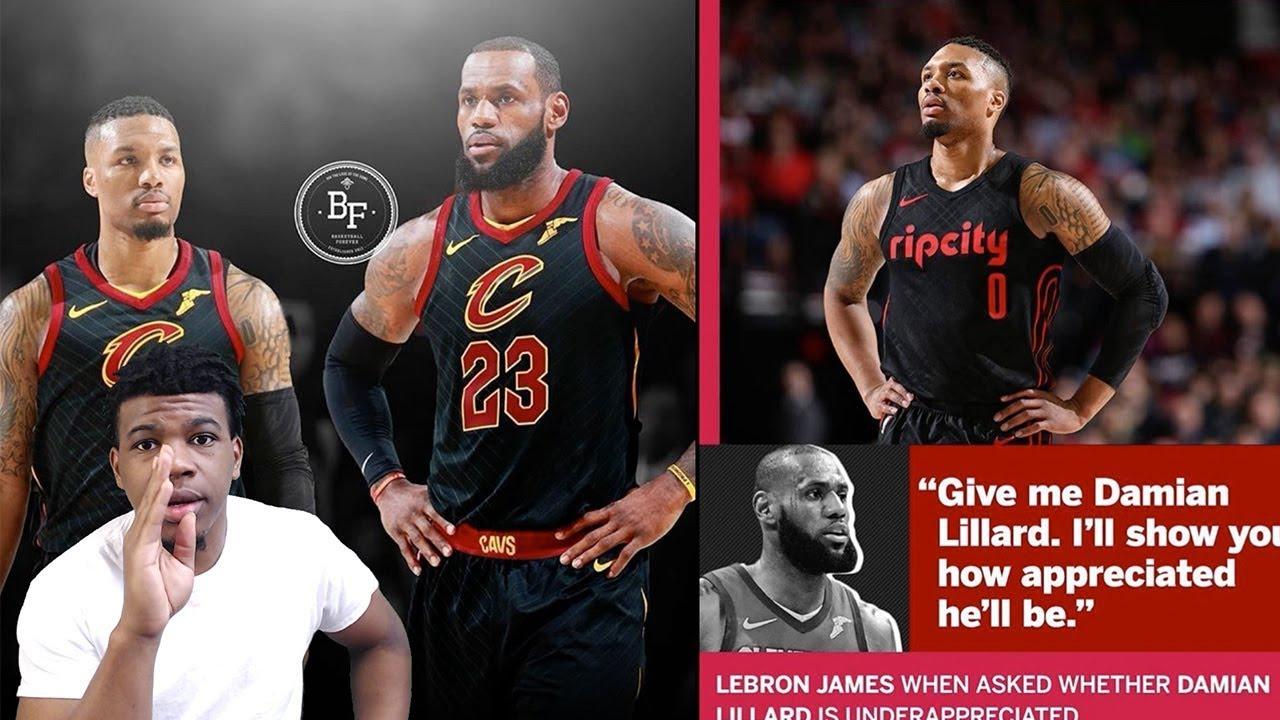 Lillard:厄文離開詹姆斯改變了他的整個生涯,17-18賽季我本打算聯手詹姆斯!-籃球圈